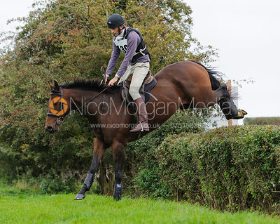 Alex Knott. The FHSA Hunter Trial 2010 - Intermediate Class