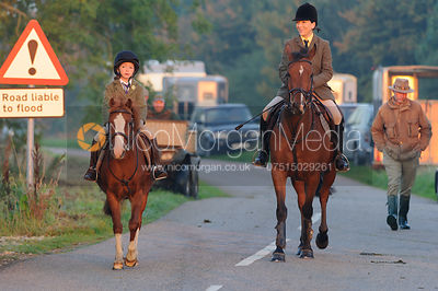 Lisa Ashmore -The Cottesmore Hunt at America Lodge Crossroads 23/9