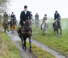 William Bell at Knossington Spinney - The Fitzwilliam Hunt visit the Cottesmore at Burrough House