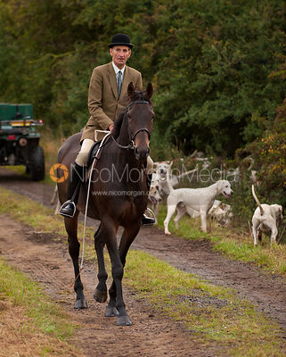 Joss Hanbury - The Quorn Hunt at Thorpe Satchville