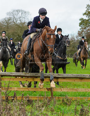 Yoyo Farmer-Day - The Cottesmore Hunt at Tilton on the Hill, 9-11-13