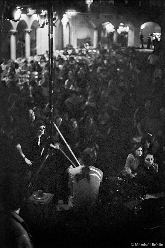 View from the stage, Styx   Aragon Ballroom 1971