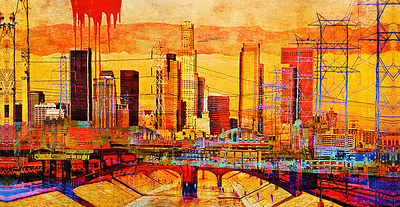 Los Angeles Skyline 1x2