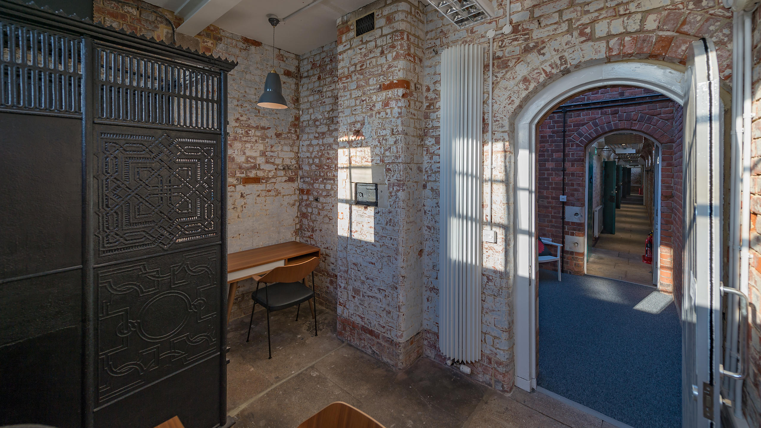 Cell Block Studios at Portsmouth Historic Dockyard