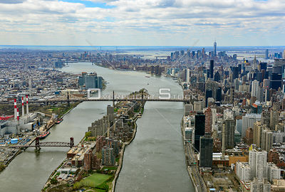 East River Roosevelt Island New York City