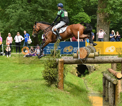 Tom Jackson and CARPA DU BUISSON Z, Equitrek Bramham Horse Trials 2018
