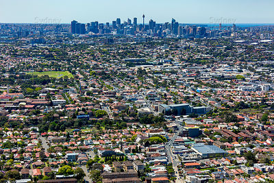 Marrickville to Sydney Skyline