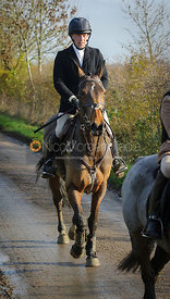 Simon Grieve - The Cottesmore Hunt meet at Oak House, Tilton On The Hill, Saturday 31st October 2015.