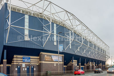 The West Bromwich Albion   The Hawthorns Ground