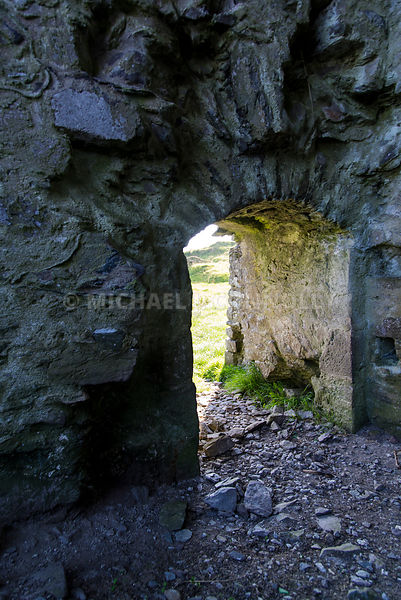 Crawl Through, Rahinnane Castle- Ventry, Ireland