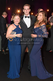 Emily Davies, Harry Taylor, Anna Lane. The Quorn Hunt Ball 2019