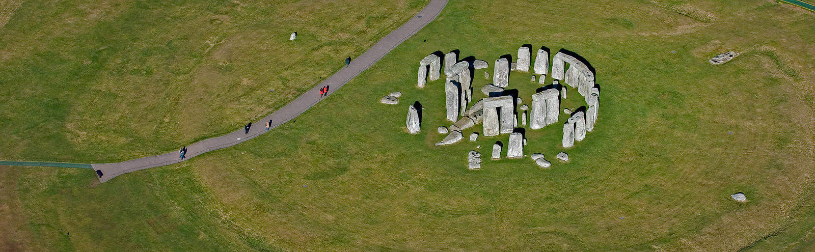 Aerial View of Stonehenge from 2006