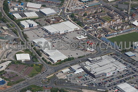 Barrow in Furness Retail Park Lancashire