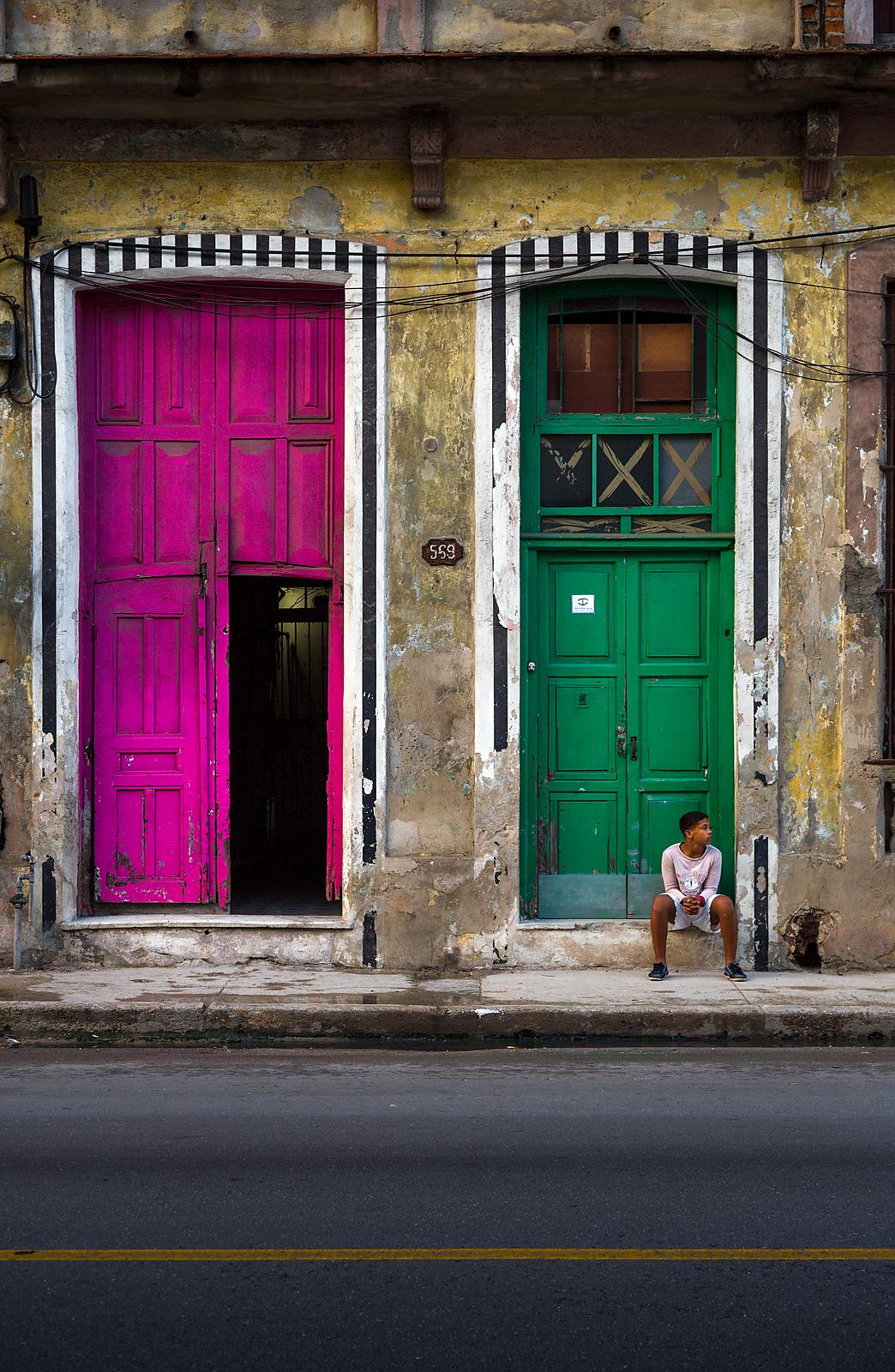 Havana_ColorDoor_BoySitting_(1_of_1)