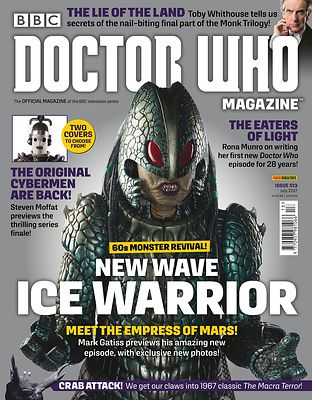 Doctor Who Magazine cover photography