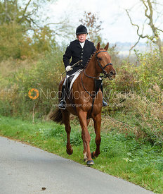 David Bland. Quorn Hunt Opening Meet 2018
