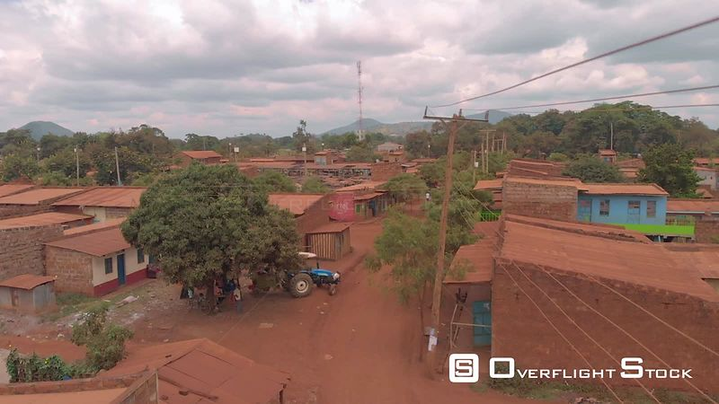 Village in Rural Kenya Africa
