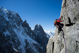 Photo alpinisme montagne - Photo Chamonix Alpes - Nant Blanc
