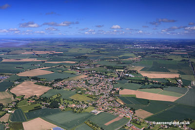 aerial photograph of Terington St Clement Norfolk England UK