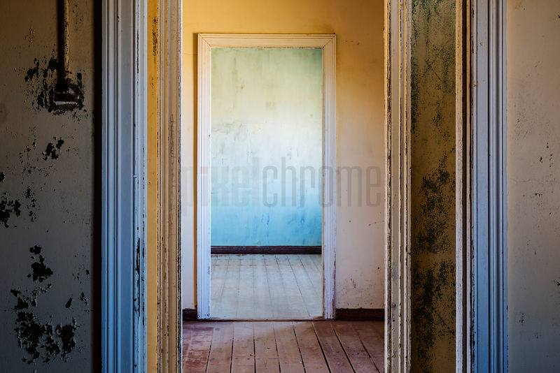 Interior Doors of Abandoned House