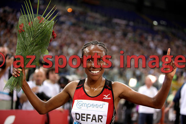 2012 Rome Golden Gala - Rome Diamond League,5000 Metres.Meseret Defar ETH