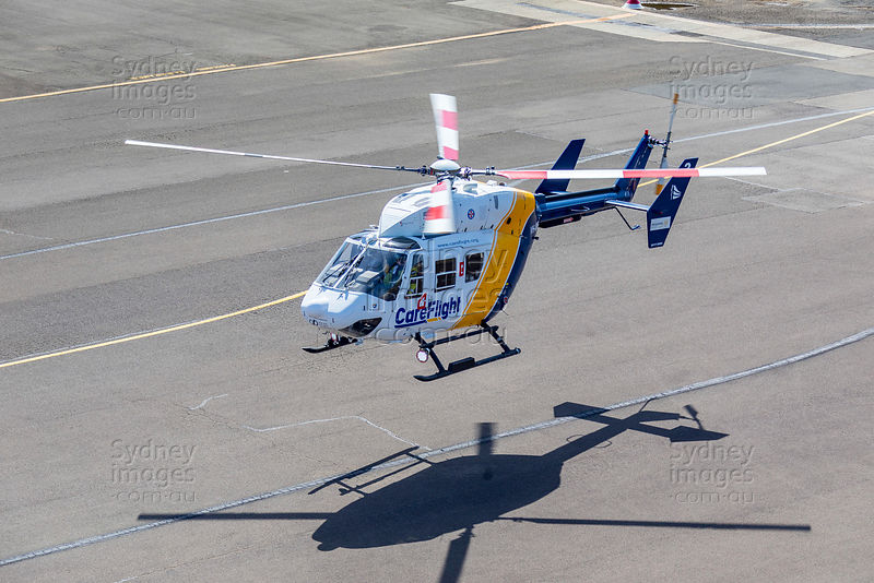 CareFlight Heli at Bankstown