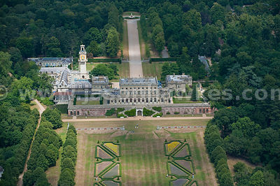 Aerial view of Cliveden House