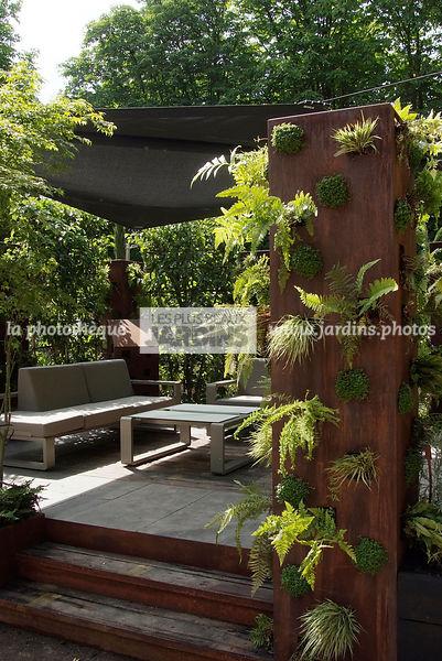 la photothèque   LES PLUS BEAUX JARDINS   Terrasse contemporaine ...