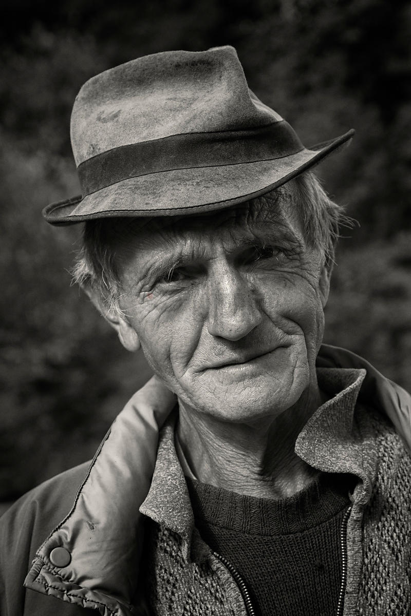 Portrait of a Man Wearing a Hat