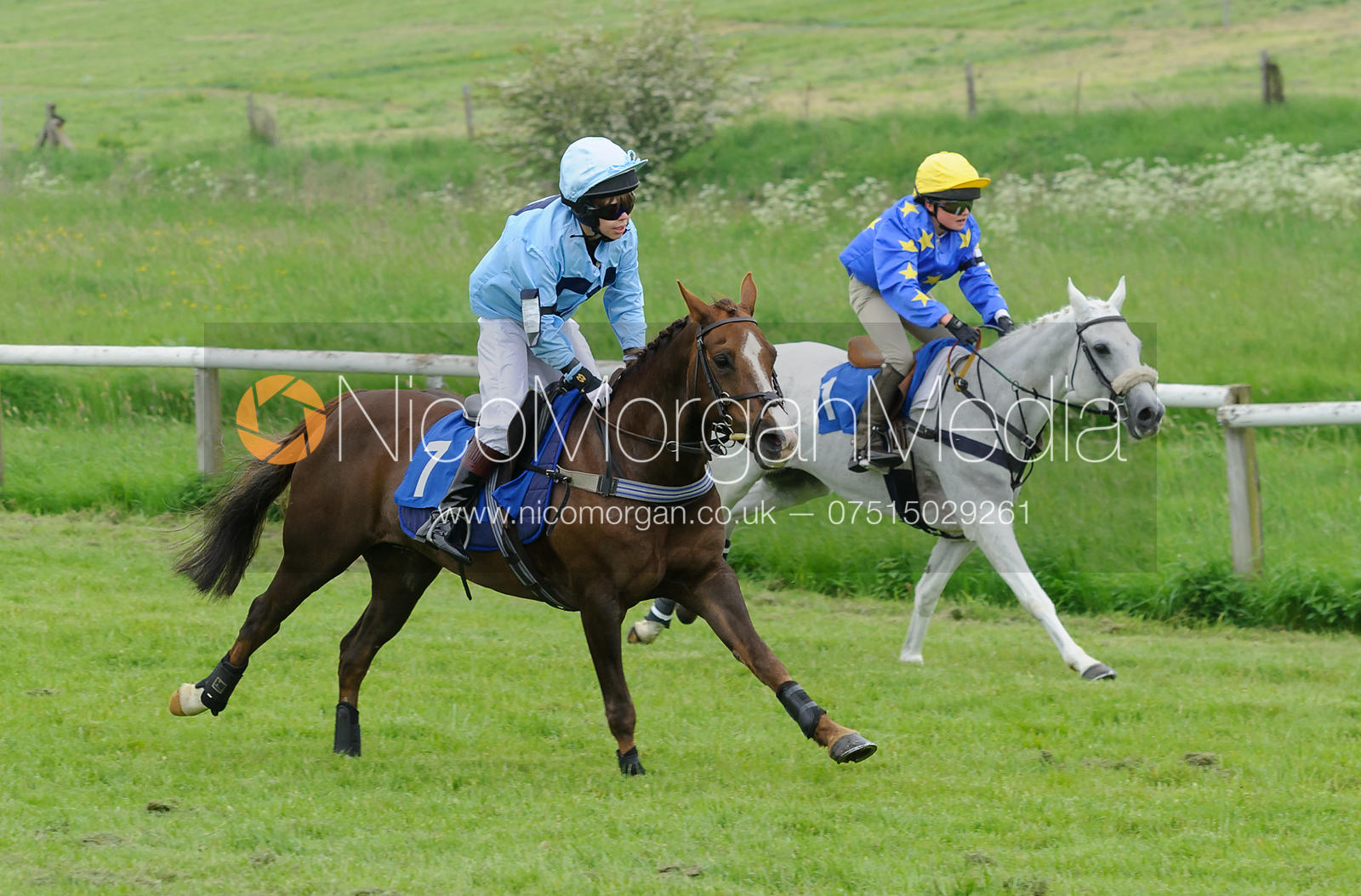 Race 4 - 138cms Conditions - Pony Racing, Garthorpe 4/6