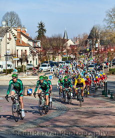 Paris Nice 2013 Cylcing Rrace- Stage 1 in Nemours