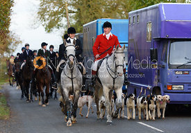 The Cambridge University Drag Hounds at Great Gidding 13/11