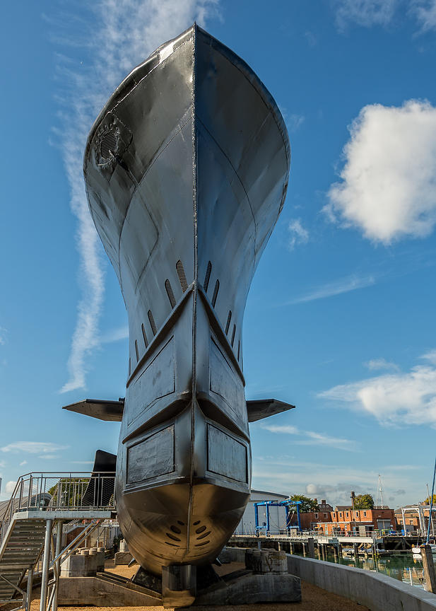 HMS Alliance at Gosport Submarine Museum