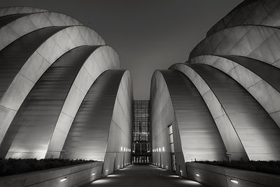 Kauffman Center at Night