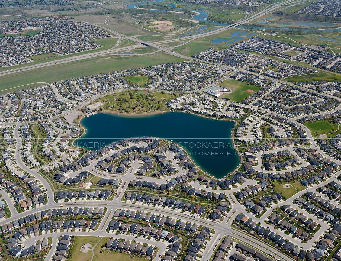 Aerial Photo | Midnapore Lake Community, Calgary