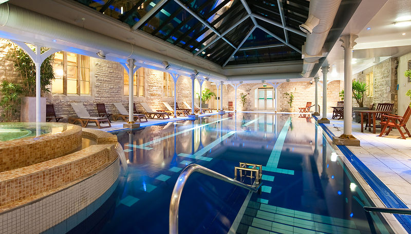 Swimming Pool at Thoresby Hall hotel & Spa, Nottinghamshire