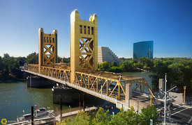 Tower Bridge over the Sacramento River #8