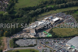Skelmersdale aerial view of West Lancashire College