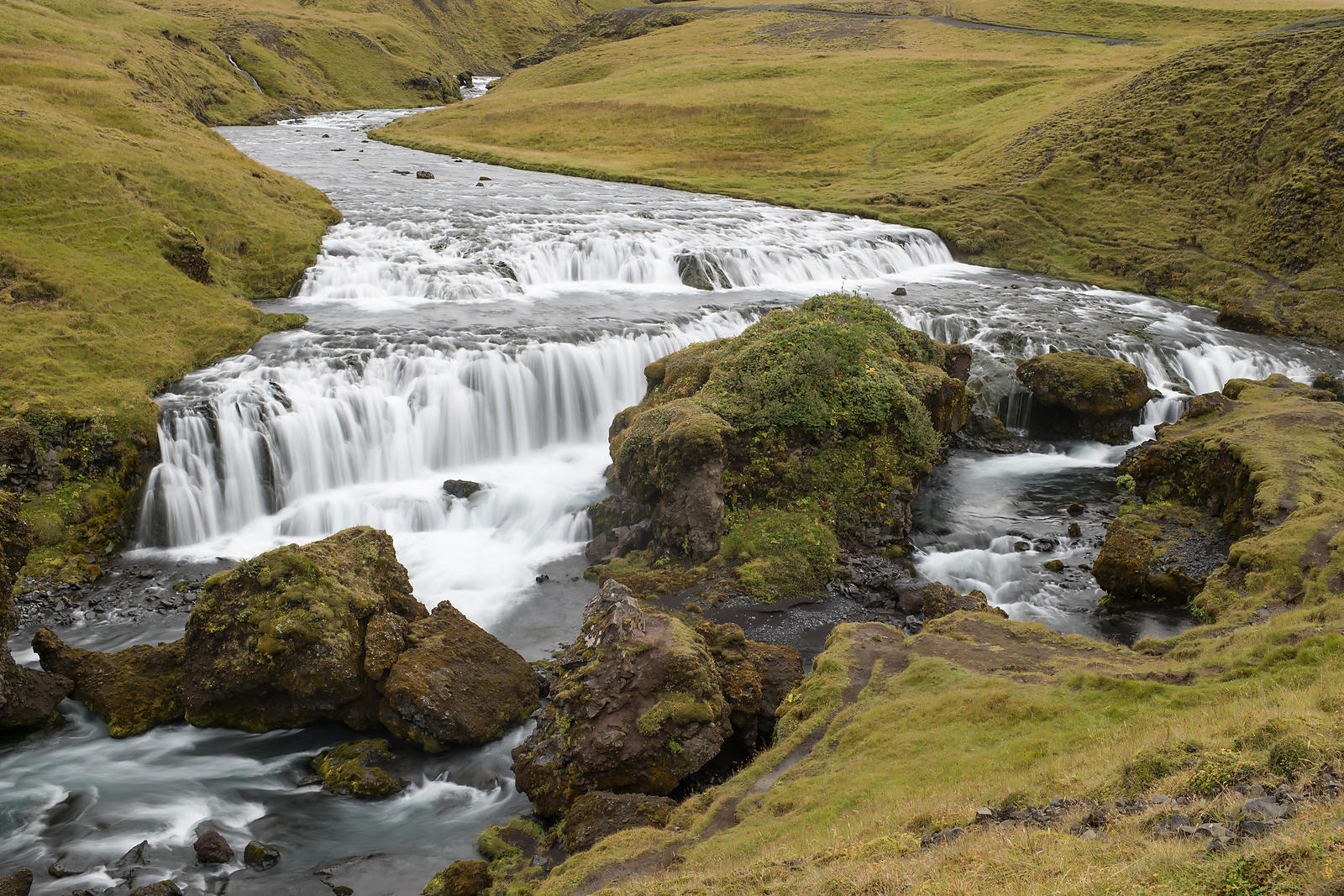 Skógá River Waterfall (1/6)