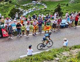 The Cyclist Sergio Miguel Moreira Paulinho - Tour de France 2013