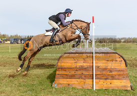 Matt Hecking and HARLE BELLE. Oasby (1) Horse Trials 2019