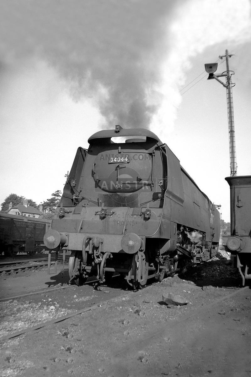 Steam loco WC 34044 Bournemouth