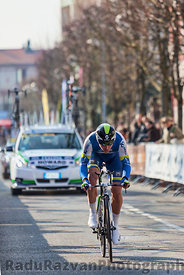 The Cyclist Howard Leigh- Paris Nice 2013 Prologue in Houilles