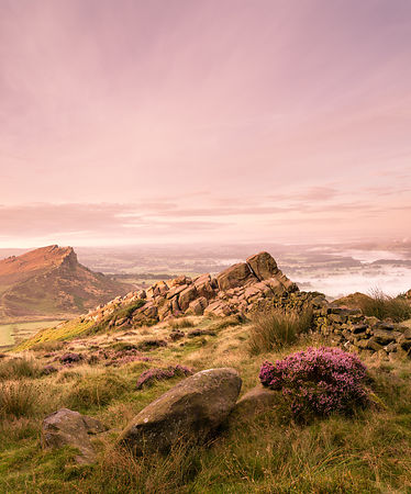 Summer sunrise on the Roaches