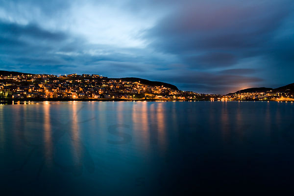 Citylights of Hammerfest