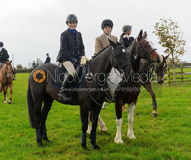 At the meet - Quorn at Barrowcliffe 1-11-13