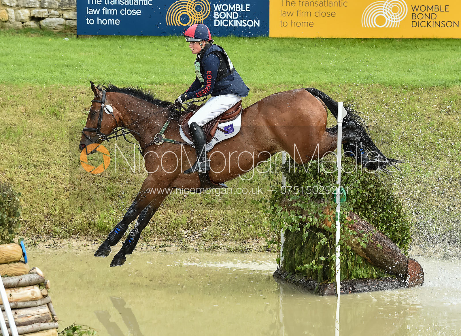 Rebecca Gibbs and DE BEERS DILLETANTE, Equitrek Bramham Horse Trials 2018