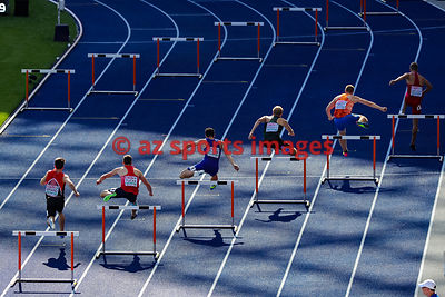 400m HURDLES MEN - ROUND 1