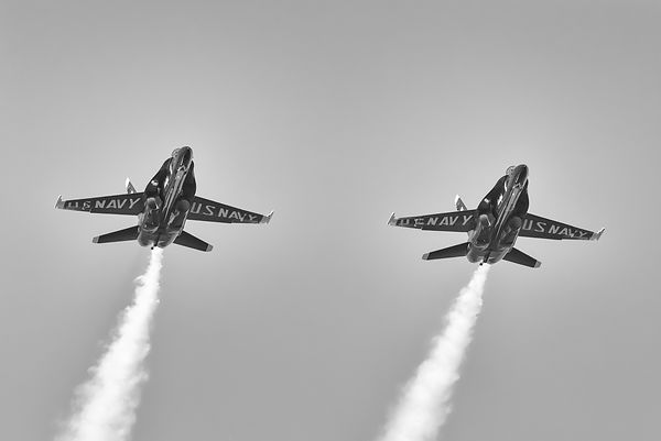 US Navy Blue Angles F/A-18 Hornets