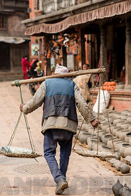 An elderly man Bhaktapur.